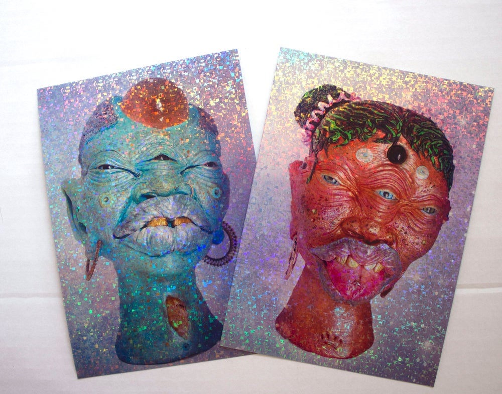Image of Stargazers Part 2 Holographic prints