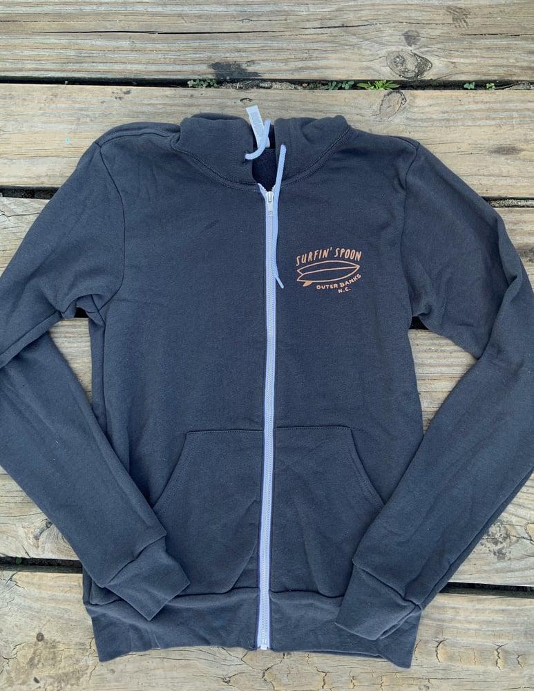 Image of NEW // Warm + Cozy Zip Up Hoodies - Grey