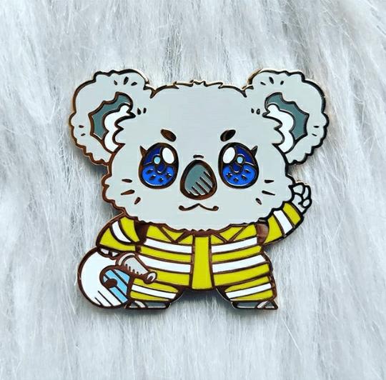 KOALA fundraiser pin