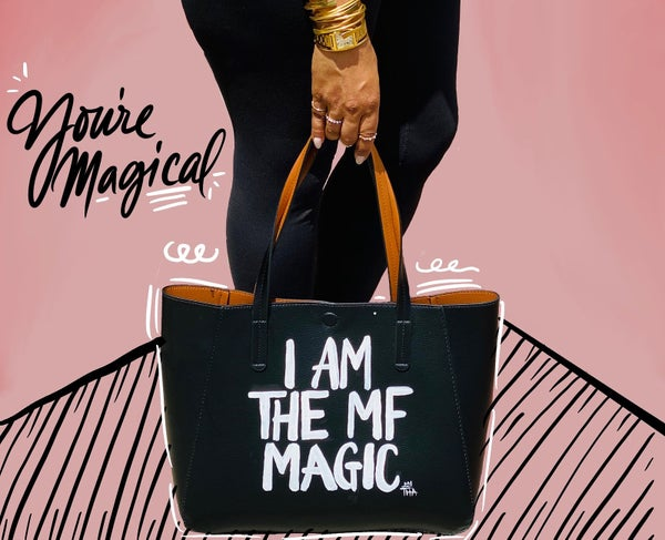 Image of I AM THE MF MAGIC TOTE BAG