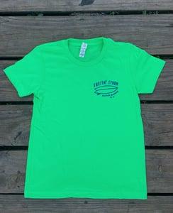 Image of NEW // Spoon Board Logo Kids Tee - Green