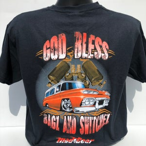 "Image of ""God Bless Bagz & Switchez"" T-Shirt"