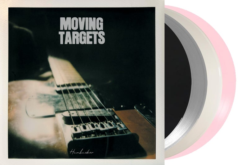 Image of MOVING TARGETS - HUMBUCKER LP - ALL 4 COLOUR VARIANTS EXTREMELY LIMITED SPECIAL OFFER!