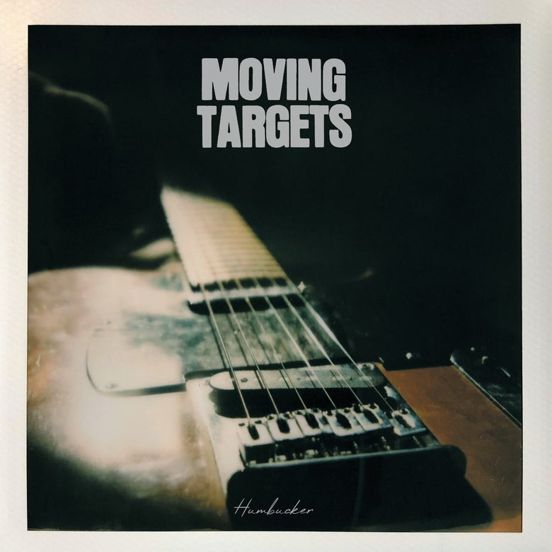Image of MOVING TARGETS - HUMBUCKER Vinyl LP with CD included