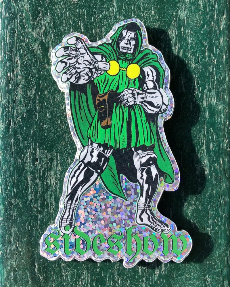 Image of Sideshow - Dr. Doom Sticker (5 Pack)