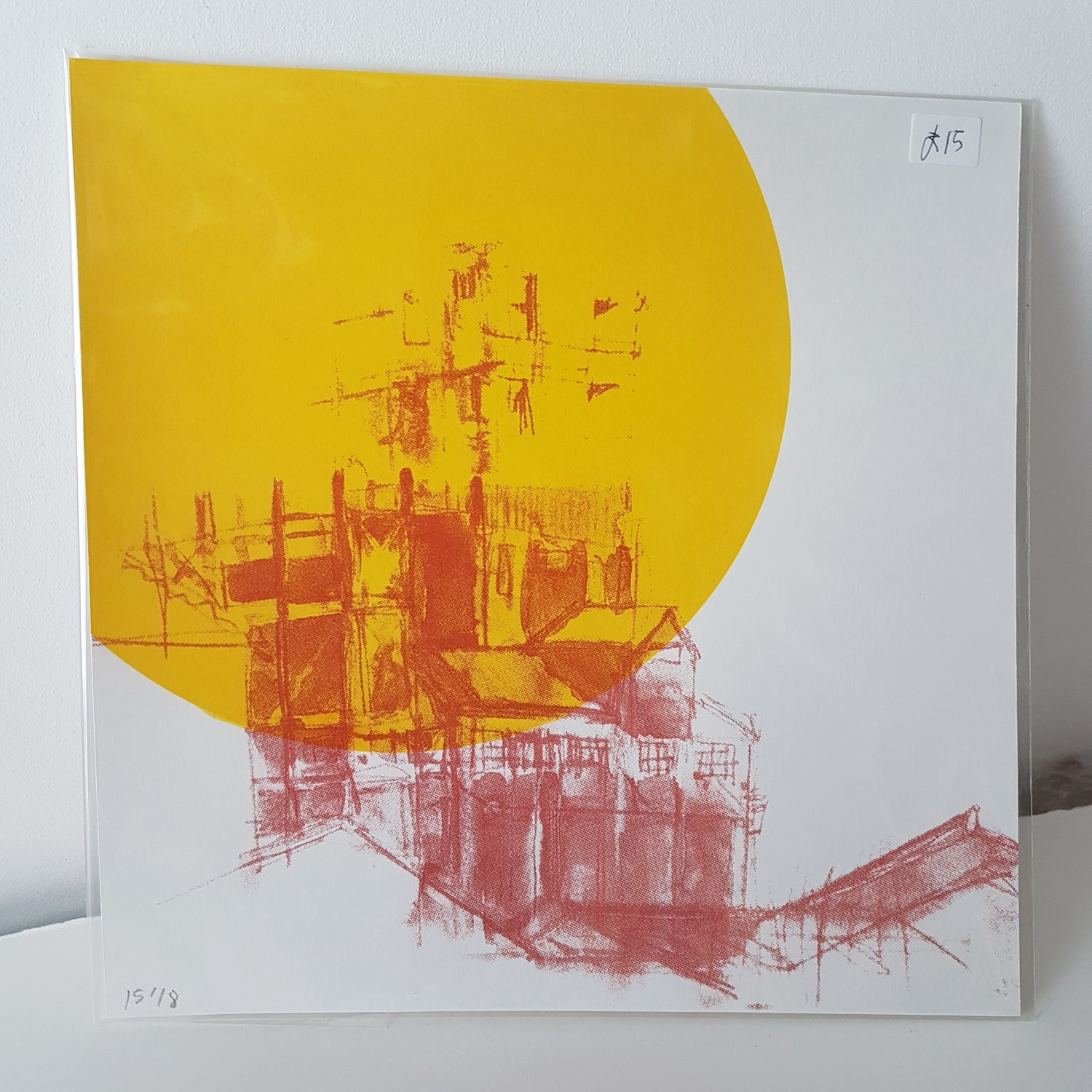Image of Old Stirling Cable building  Tower - Silkscreen