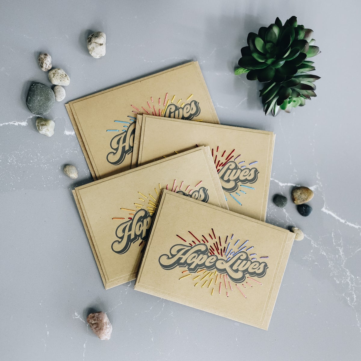 Image of Hope Lives Greeting Cards - 4 pack