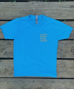 Image of NEW // Classic Logo Kids Tee - Blue