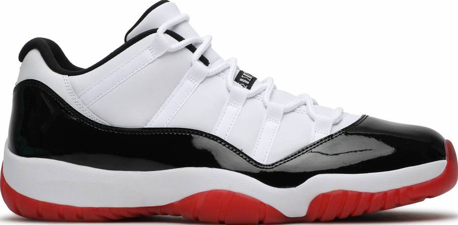"Image of Nike Retro Air Jordan 11 Low ""Concord Bred"" Sz 5"