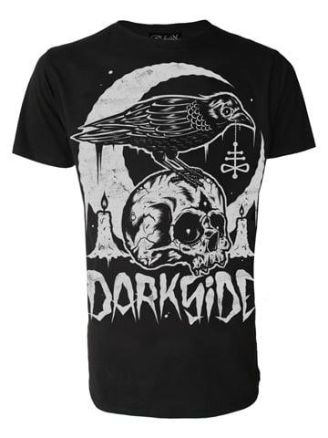 Image of DARKSIDE Skull Crow Men's T-Shirt