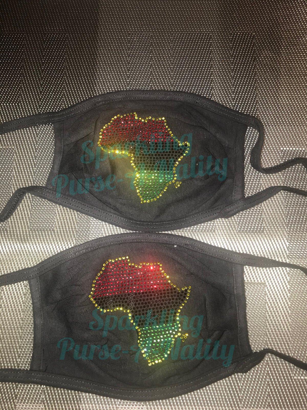 Image of Sparkling Africa Mask