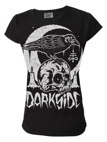 Image of DARKSIDE Skull Crow Women's T-Shirt