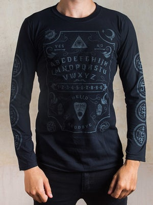 Image of DARKSIDE Ouija Board Men's Long Sleeve T-Shirt