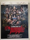 CONCRETE JUNGLE Signed 11x17 Poster