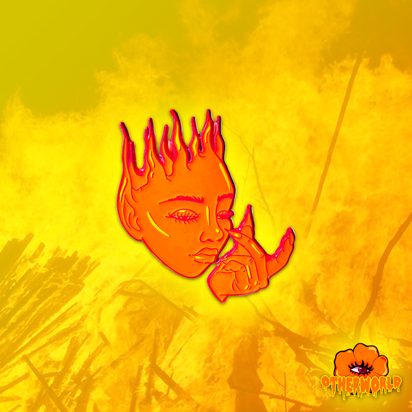 Image of Fire Goddess pin