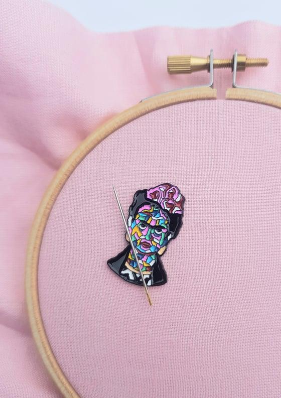Image of Frida Kahlo Magnetic Needle Minder