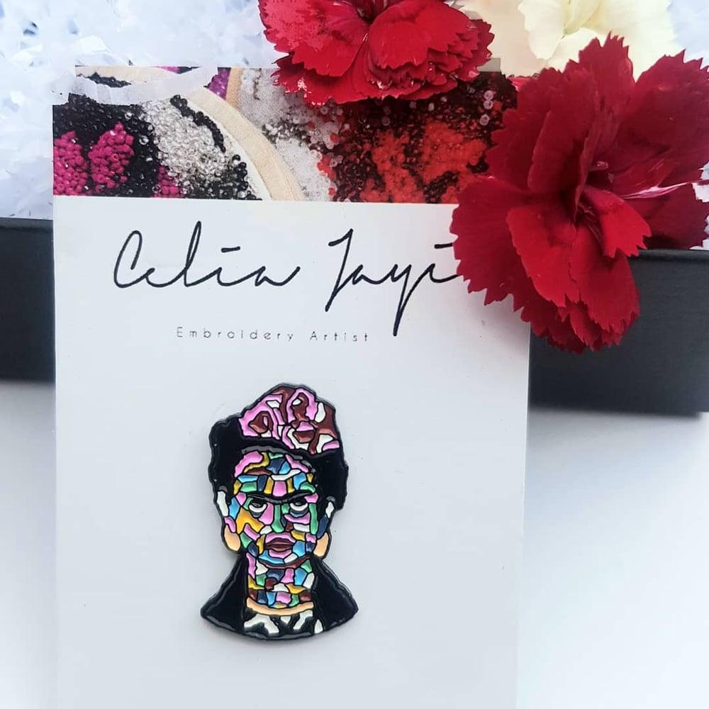 Image of Frida Kahlo Soft Enamel Pin Badge