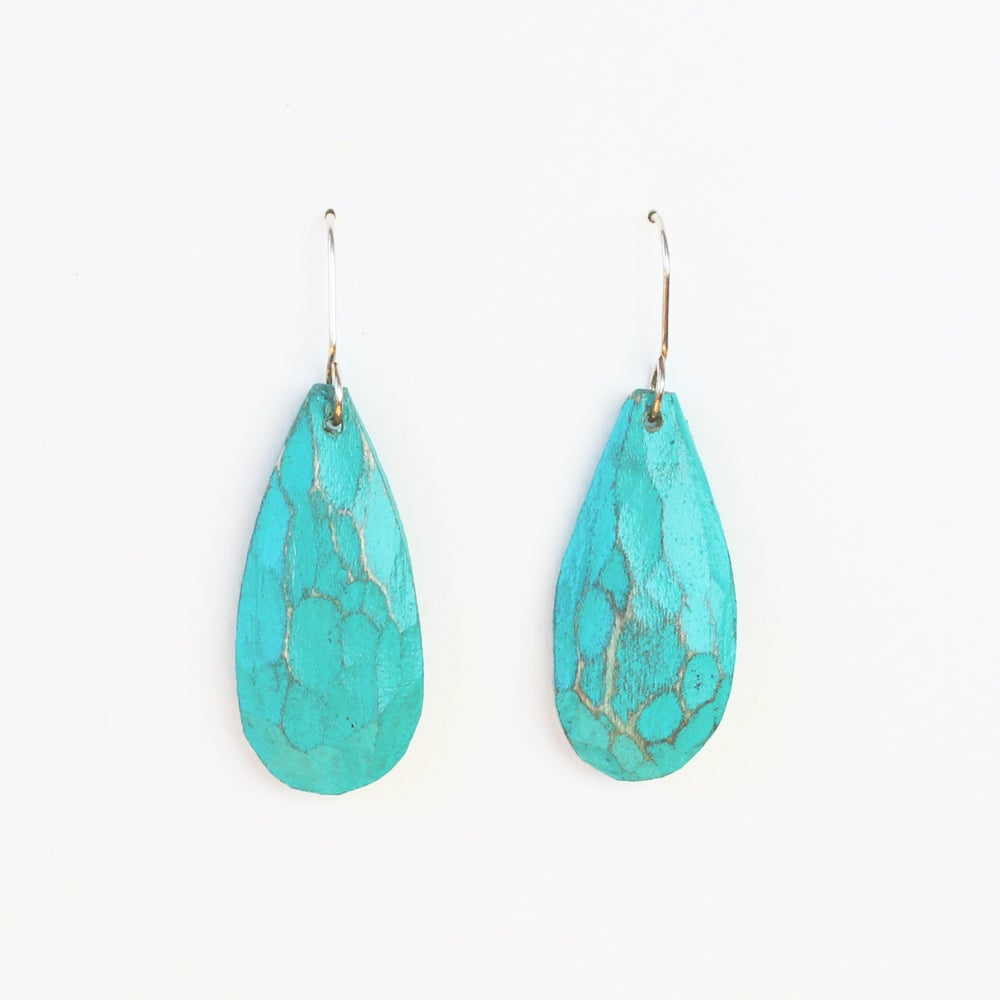 Turquoise Drops Small
