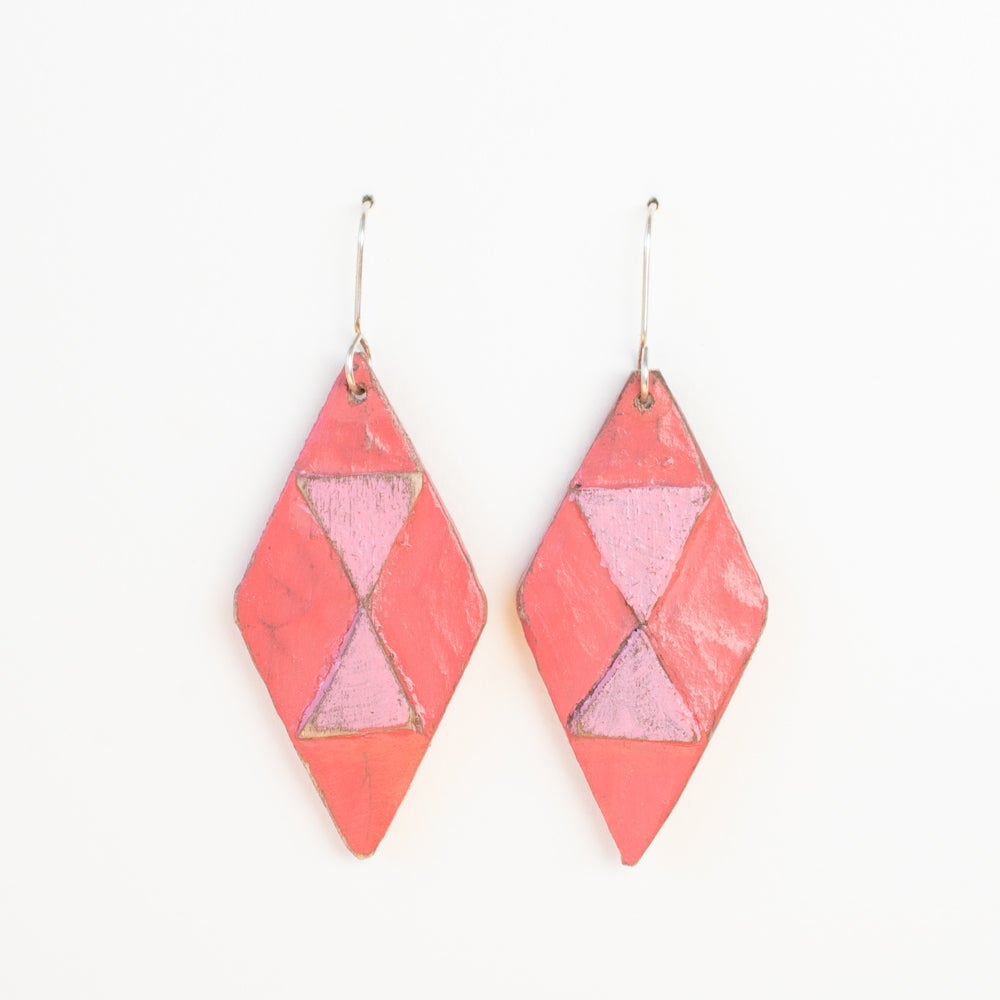 Coral/Candy Diamonds