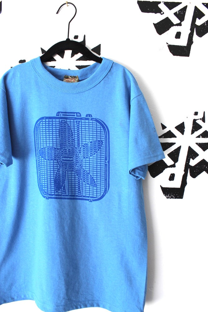Image of keep it cool tee in blue