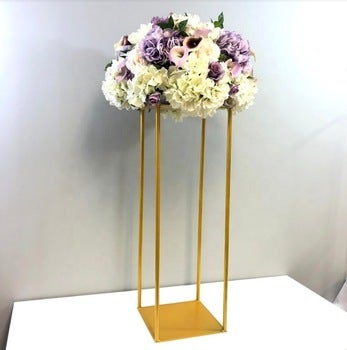 Gold and silver stands