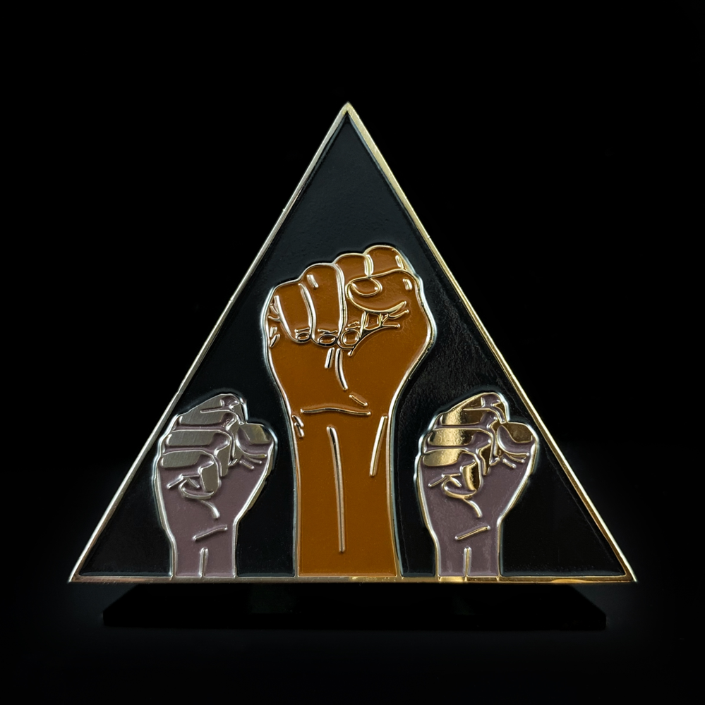 Image of TOGETHER BLM Pin