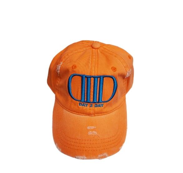 Orange/Blue Dad Hat