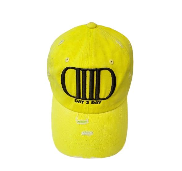 Neon Yellow/Black Dad Hat