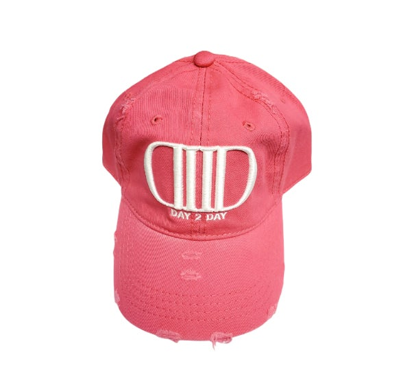 Pink/White Dad Hat