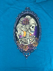 "Image of ""Skeleton Cameo"" (Also available in Teal)"