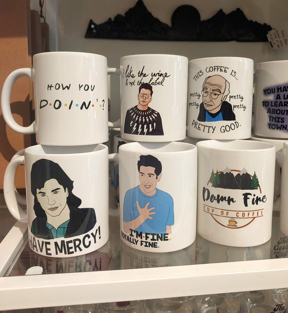 Image of Pop Culture Funny Mugs