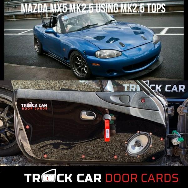 Image of Mazda MX5- MK2 using mk2.5 tops