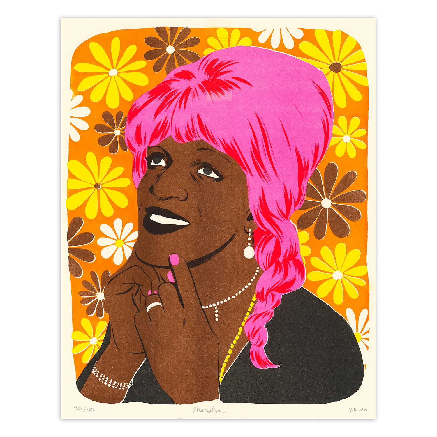 Image of Marsha P Johnson Fundraiser Print
