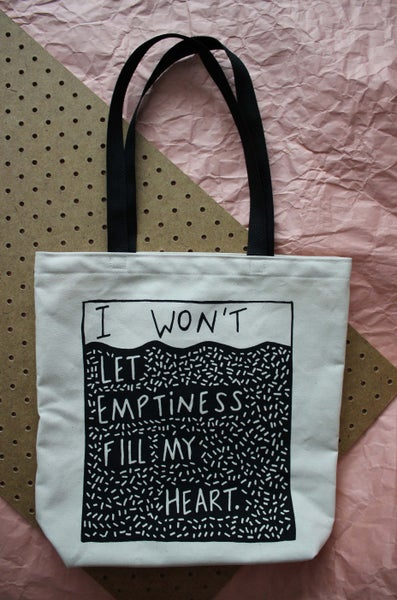 Image of Emptiness Tote