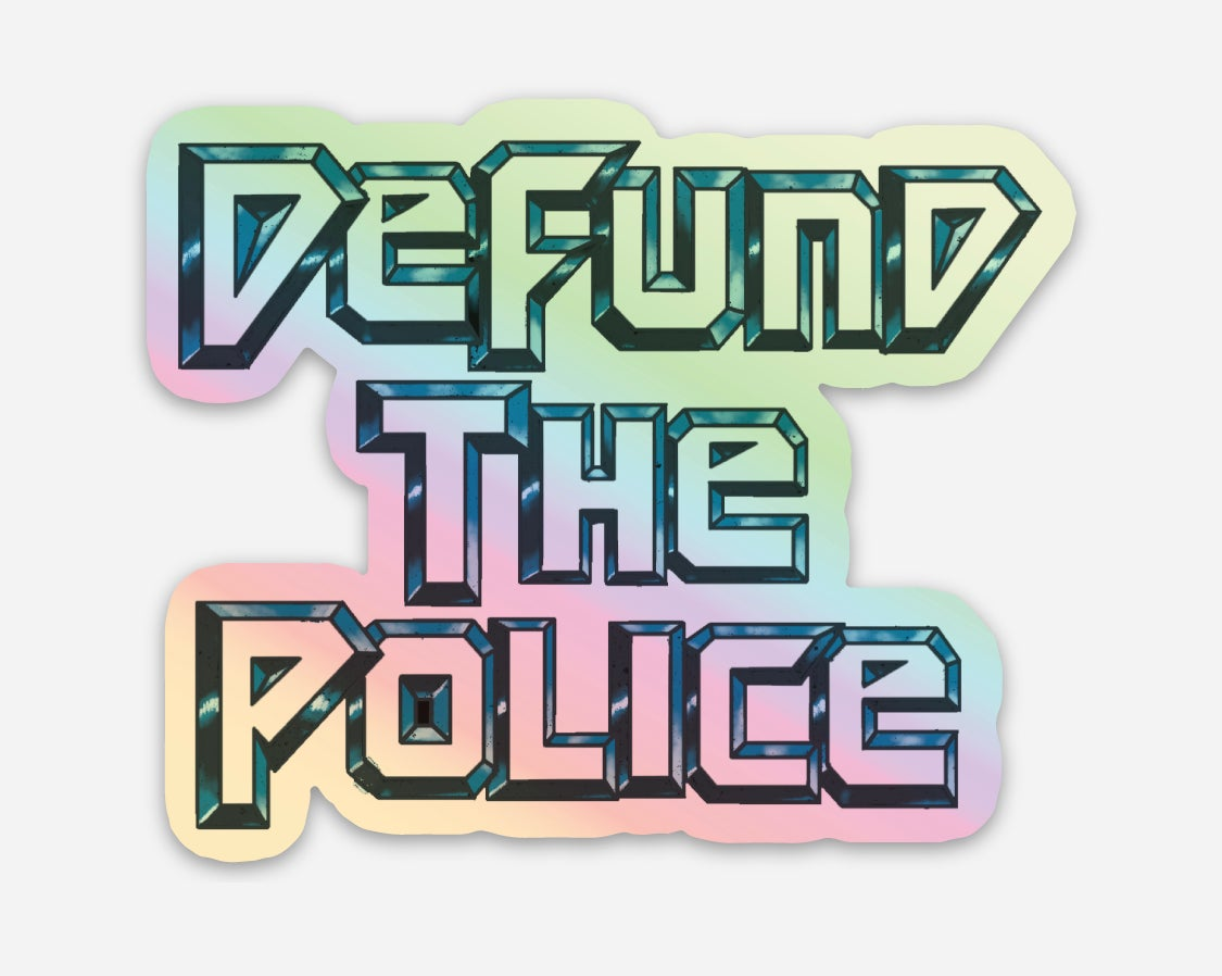 Image of DEFUND Holographic Sticker