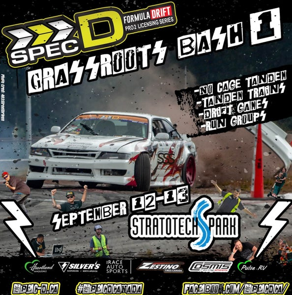 Image of Grassroots Drift Bash Sept 12-13