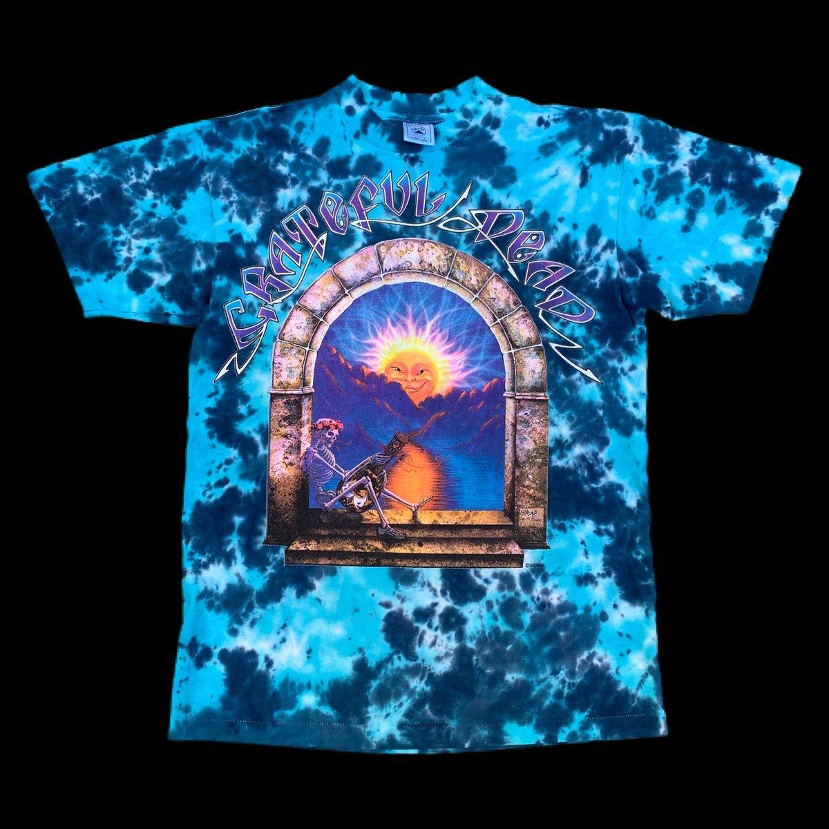 Original Vintage 1993 Grateful Dead Madison Square Garden Dye - Large