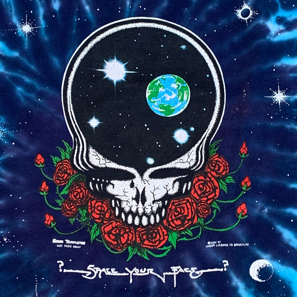 Original Vintage Grateful Dead 90's Space Your Face Dye!! XXXL