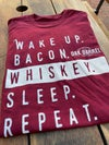 Wake Up Bacon - Red T-shirt