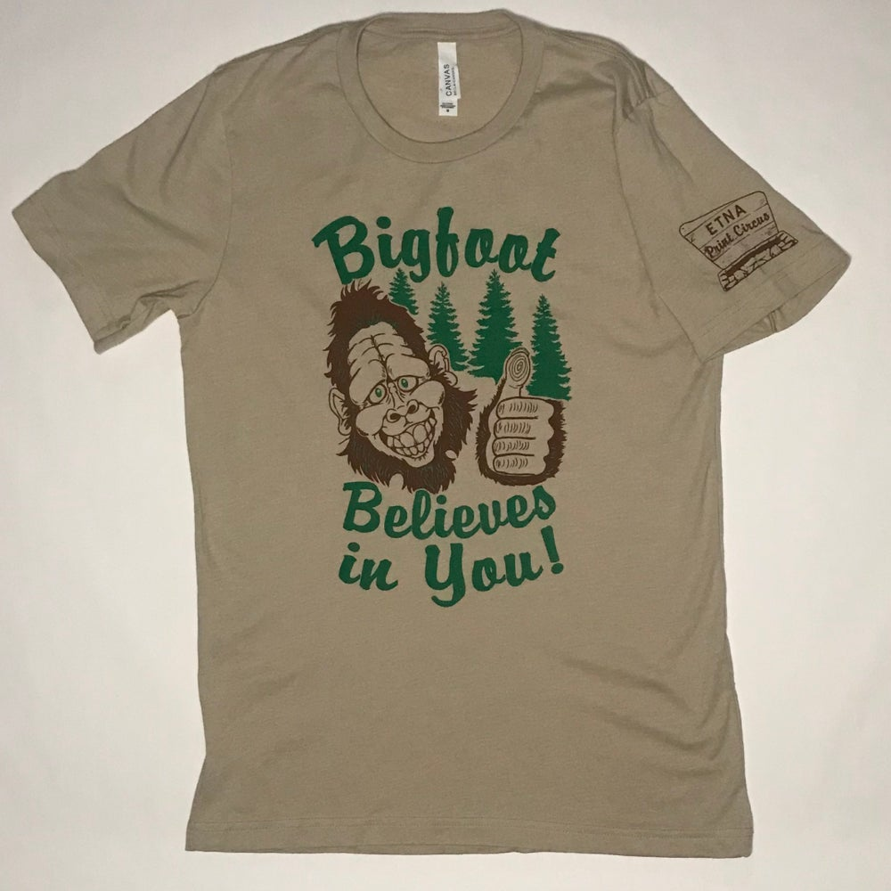 Image of Bigfoot Believes in You