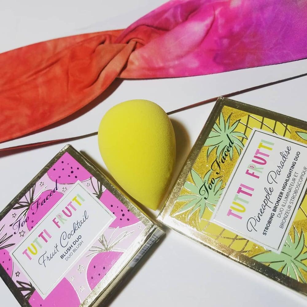 Two Faced Blush & Highlighter Duo's Tutti Frutti Bundle