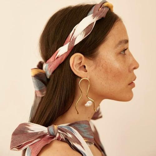 Image of The ORTAY LUNAR Earrings by Ruby Jack