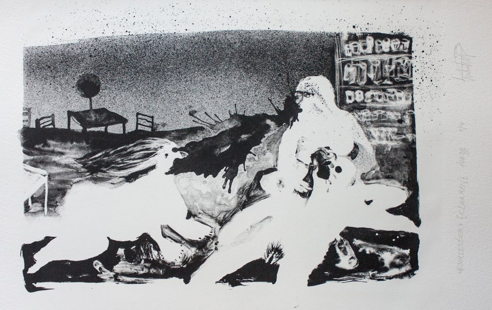 "Image of Lithography ""bartender"""