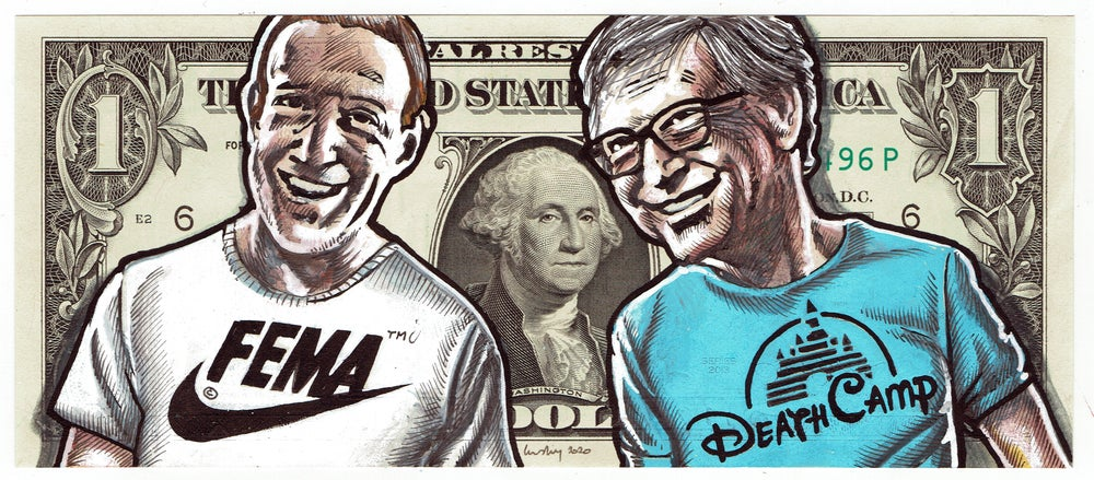 Image of Real Dollar Original. Brothers In Pharms.
