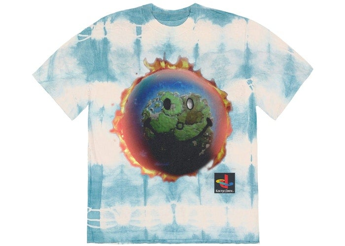 Image of Travis Scott The Scotts World Tie Dye Sz XL