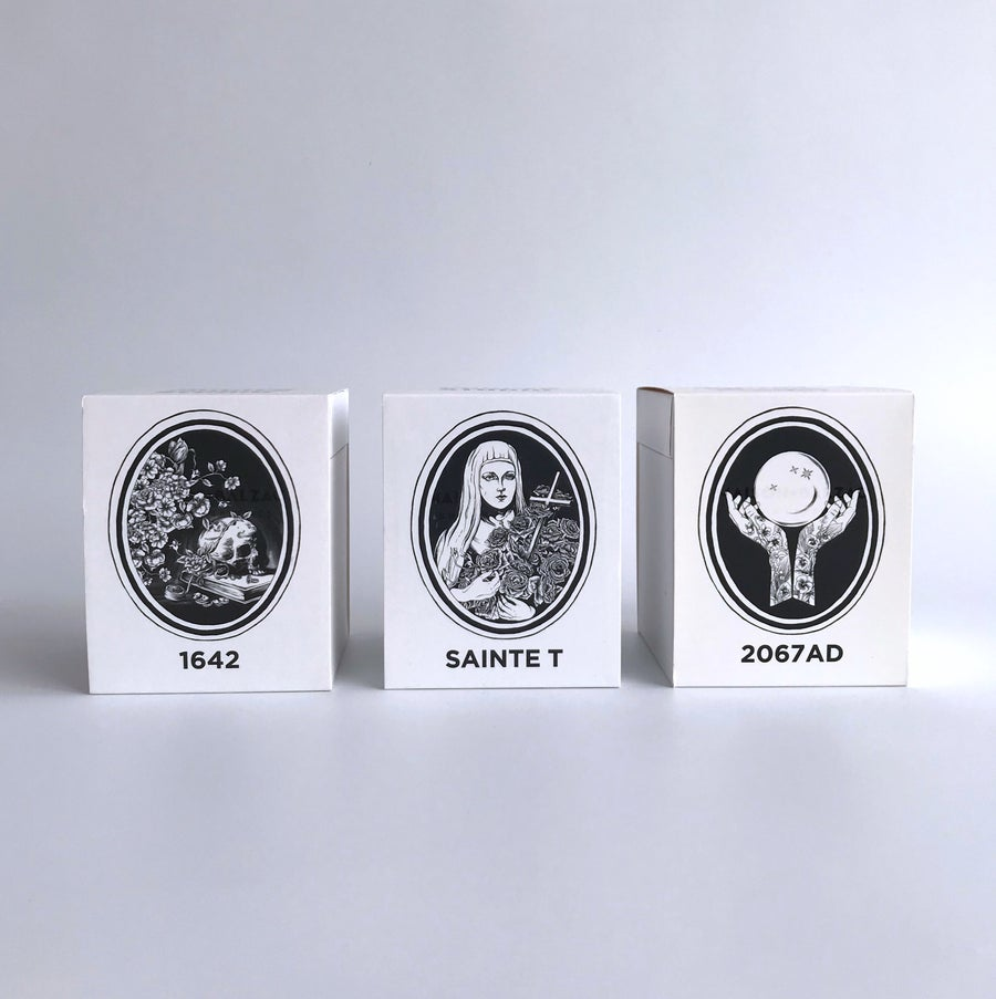 Image of Maison Balzac x Doctor Cooper Studio series scented candles