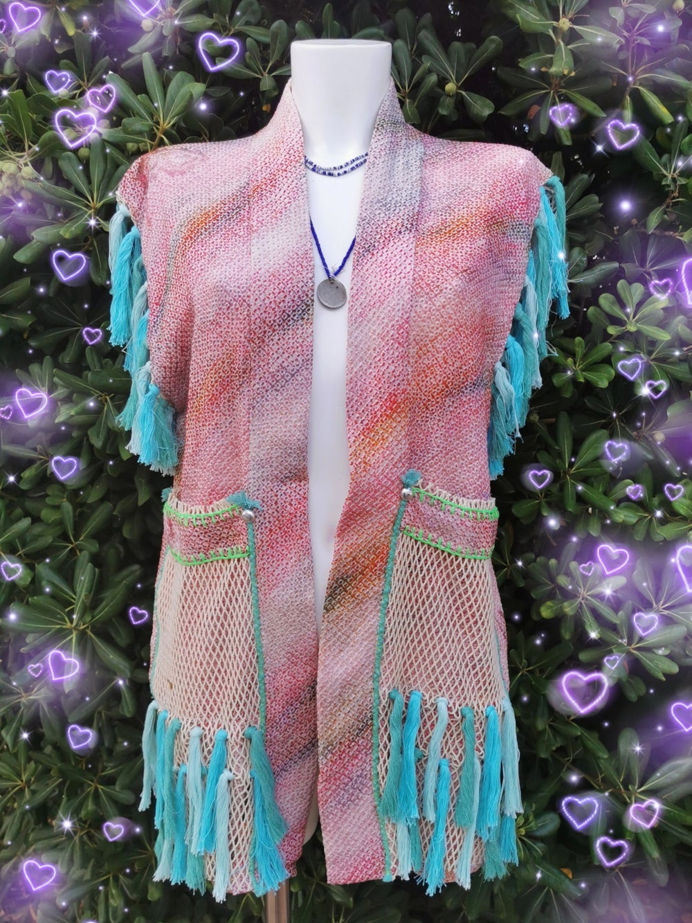 Image of Pink Shibori Rainbow