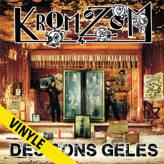 """Kromozom 4 """"Des Cons Gelés"""" LP"""