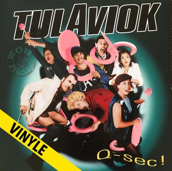 """TULAVIOK """"Q-Sec"""" LP (réédition)"""