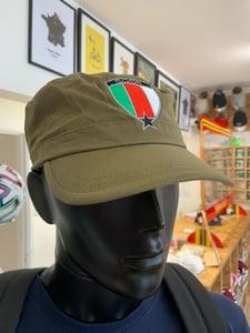 Image of Republic of '58 Military Style Cap Khaki